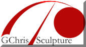 GChris Sculpture logo